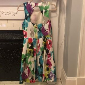 Eliza J Dresses - Colorful Eliza J Cocktail Dress